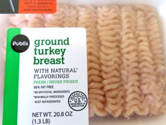 Ground turkey recall announced at Publix Super Markets.