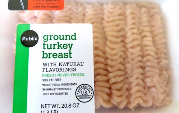 Ground turkey sold in Florida recalled