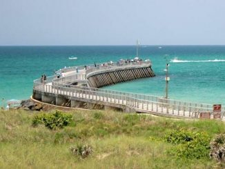 Three boaters rescued near Sebastian Inlet.