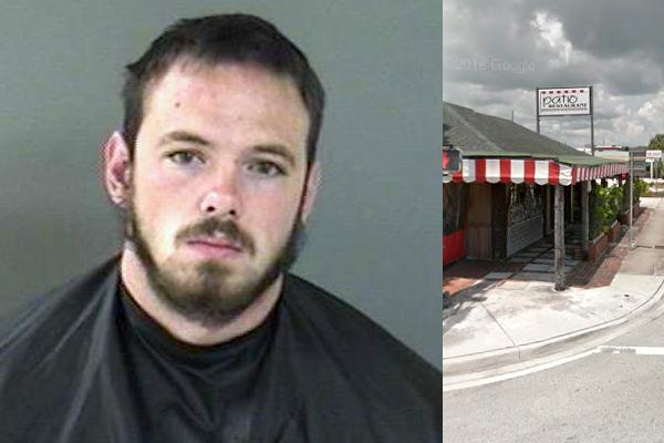 Man Tries To Climb Roof At The Patio Restaurant In Vero Beach   Sebastian  Daily