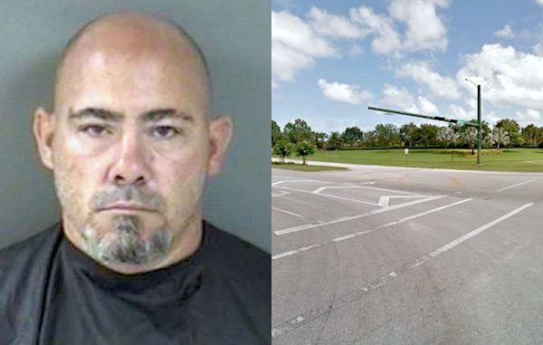 Man found passed out in vehicle blocking traffic in Vero Beach.
