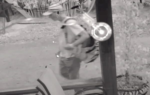 Police seek the public's help to identify a man who burglarized the Kilted Mermaid in Vero Beach.