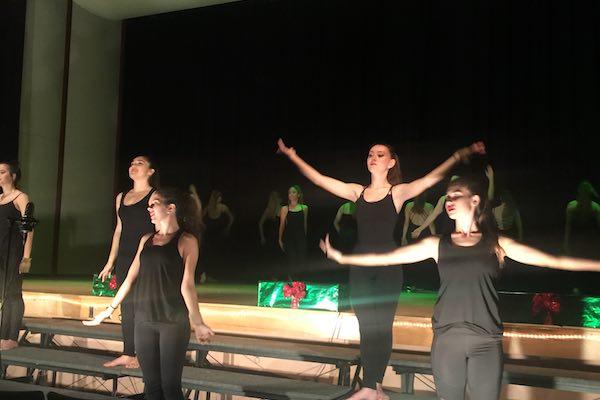 Prism concert dancers.