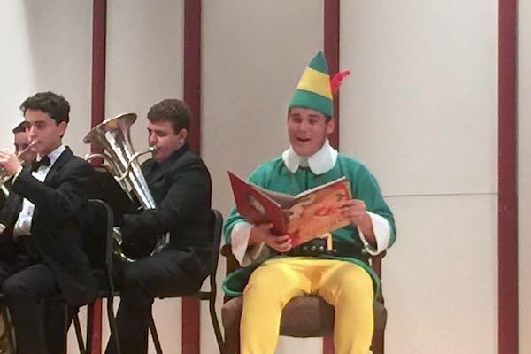 Elf at SRHS.