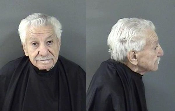 A 92-year-old man from Sebastian was charged with battery after touching a patient inappropriately.
