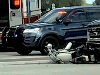 Sebastian motorcyclist dies after hitting truck.