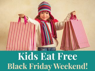 Kids in Vero Beach eat free on Black Friday.