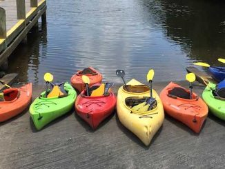 Open house at About Kayaks River Rentals in Sebastian.