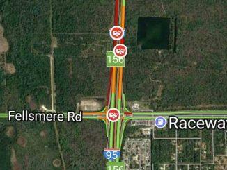 Accident kills 1 on I-95 near Sebastian/Fellsmere exit.