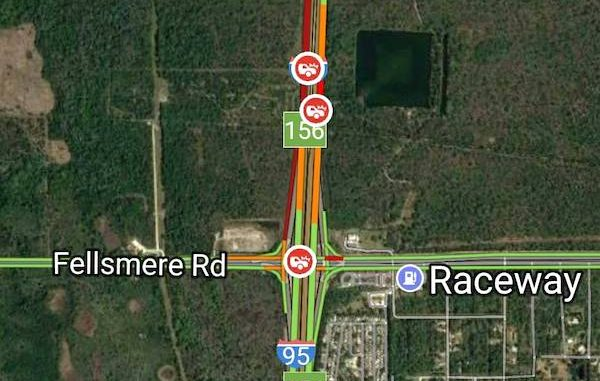 Accident kills 1 on I-95 near Sebastian/Fellsmere exit.