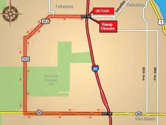 Ramp closures at I-95 Exit 156/CR 512 are planned January 3 and 4, 2018 overnights for construction activities.