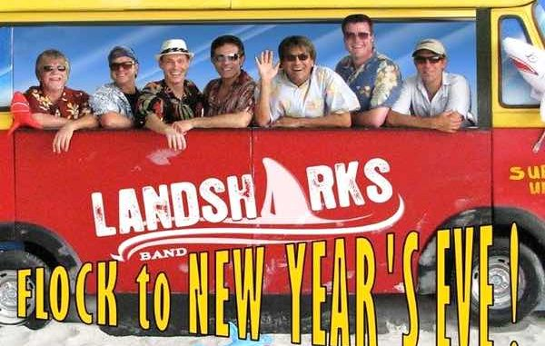 The Landsharks band will be performing this year for New Year's Eve at the Heritage Center in Vero Beach.