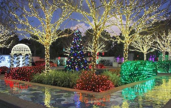 Celebrate The Holidays At The McKee Botanical Garden In Vero Beach.