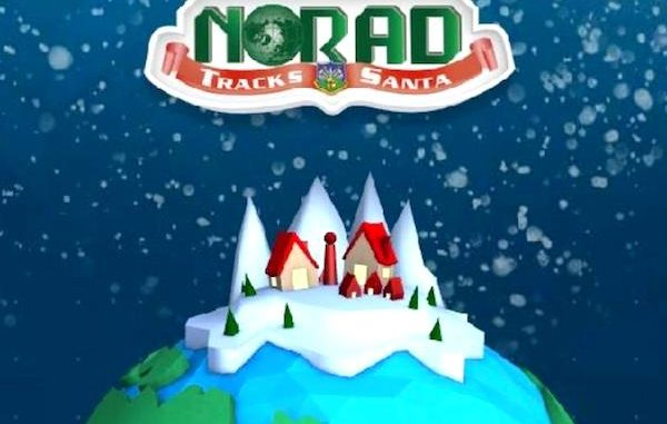 NORAD helps you to track Santa Claus.
