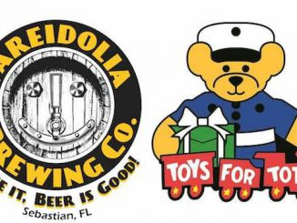 Pareidolia Brewing Company in Sebastian will host an event that will benefit Toys for Tots.