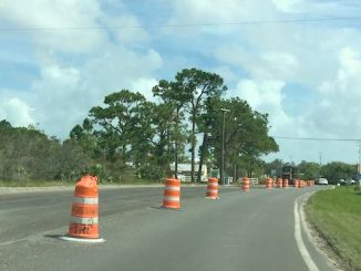 Indian River County still working on CR-512 in Sebastian.