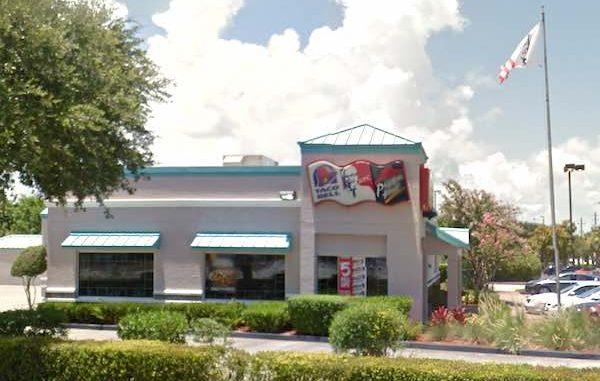 KFC/Taco Bell in Sebastian, Florida.