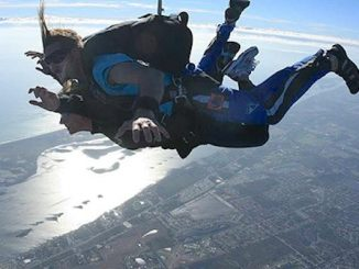 Skydiver injured at Sebastian Municipal Airport.