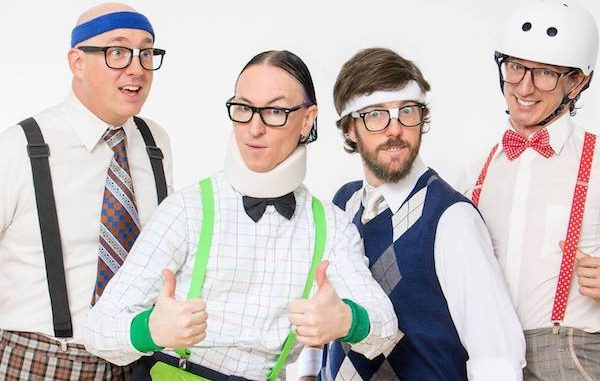 The Spazmatics return to Captain Hiram's Sandbar in Sebastian.