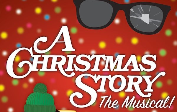 A Christmas Story musical at Riverside Theatre in Vero Beach.
