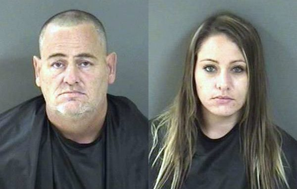 Two people were arrested for stealing items donated to the Humane Society of Vero Beach.