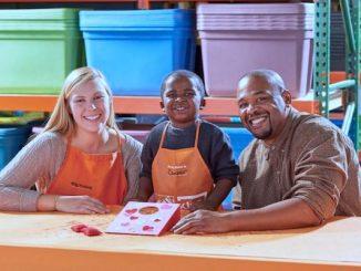Home Depot in Sebastian will offer their Valentine Bean Bag Toss Workshop for kids.