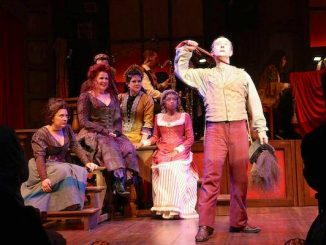 The Mystery of Edwin Drood at Riverside Theatre in Vero Beach.