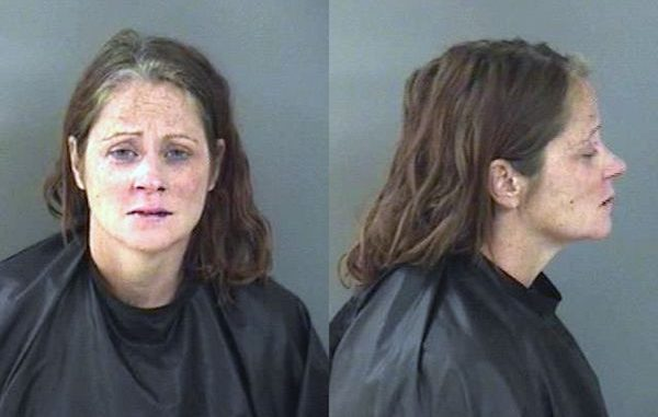 A Vero Beach school teacher was arrested after she punched a deputy at the Indian River Medical Center.