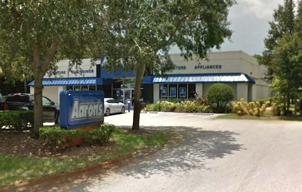 Boy steals parent's vehicle at the Aaron's store in Vero Beach.