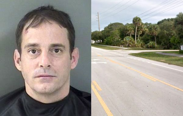 A man in Vero Beach was arrested after he tried to jump on multiple moving vehicles on A1A.