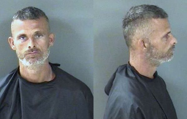 A Vero Beach man was arrested after he threatened two men with a machete.