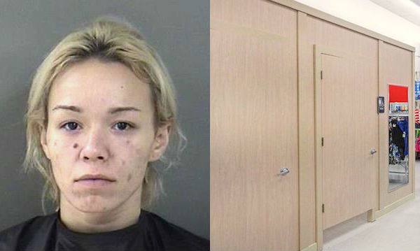 Amanda Nicole Sollenne, of Vero Beach, was arrested for shoplifting at Bealls.
