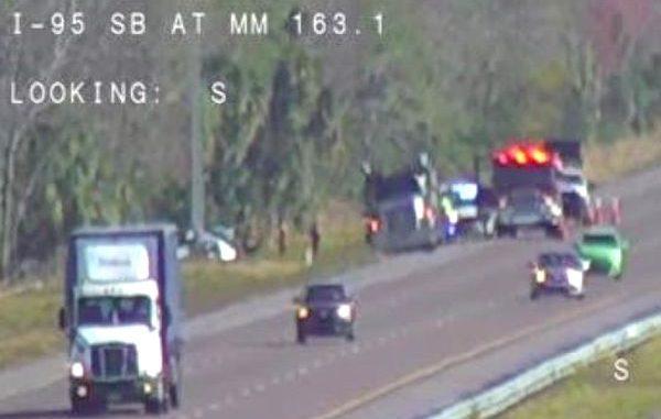 Motorist Killed in I-95 Crash North of Sebastian, Fellsmere Exit