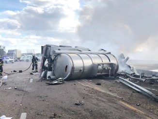 A Tampa man died in a fiery crash that kept I-95 closed for almost 4 hours Wednesday.