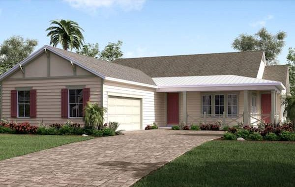 New homes like the one pictured could be built soon in Sebastian if the city 700 new housing units to the area if the city decides to annex more than 183 acres in unincorporated Indian River County.