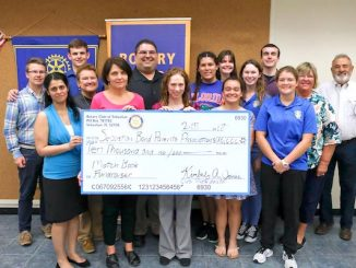 Rotary Club makes large donation to SRHS Band.