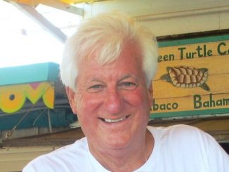 A memorial service for Tom Collins will be at the Captain Hiram's Sandbar in Sebastian. (Photo by Janet Balcer)