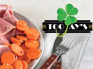 TooJay's of Vero Beach is starting their St Patrick's Day menu a little early. Image credit: TooJay's
