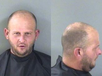 34-year-old Benjamin Elias Daum was sitting on the lot smoking and drinking from a beer can.