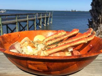 Crab Stop of Sebastian has a Snow Crab Snack Pack that comes in a bowl for $15.95. Highly recommended if you like crab legs.