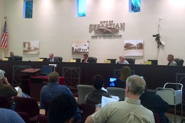 Sebastian City Council unanimously approves first step for the annexation of 182 acres Wednesday.