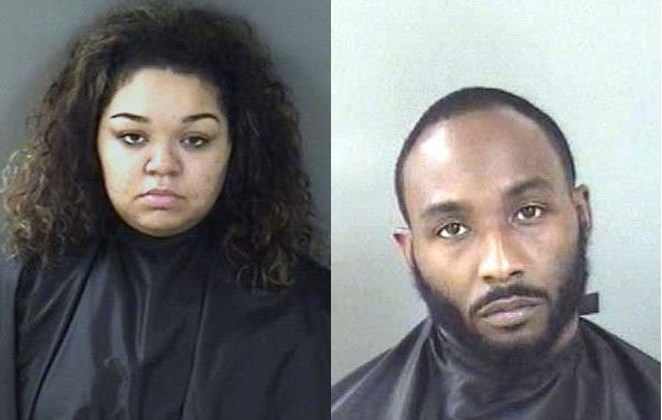 Alisha Markell Neil and Corderro Dante East were arrested at the Best Western in Sebastian and charged with drug trafficking.