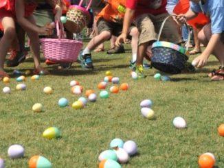 Sebastian Easter Egg Hunts will be all around town.