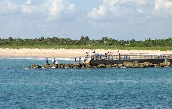 Fishermen says someone stole his fishing rods at the Sebastian Inlet State Park.