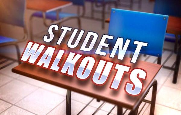 Students plan to participate in a national walkout .