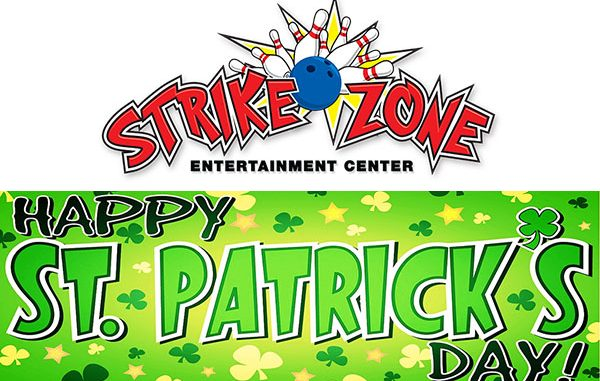 Strike Zone Entertainment Center in Sebastian is celebrating St. Patrick's Day with a festive Irish menu and specialty drinks
