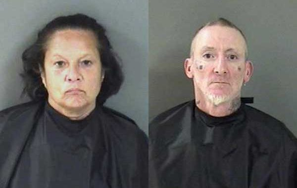 Deborah Ann Bennett and Christopher D. Fultz were arrested after they allegedly robbed a man behind Applebee's in Vero Beach.