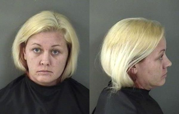 A woman tells police she inserted a tire gauge into her uterus in Vero Beach.