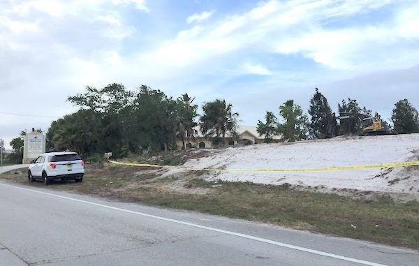 Bones found in vacant lot in Sebastian.