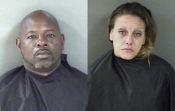 Darryl Christopher Ross and Samantha Jo Moore arrested on multiple drug charges in Vero Beach.
